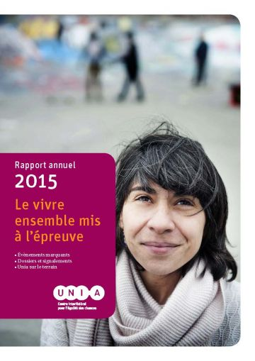 Cover Rapport Annuel 2015